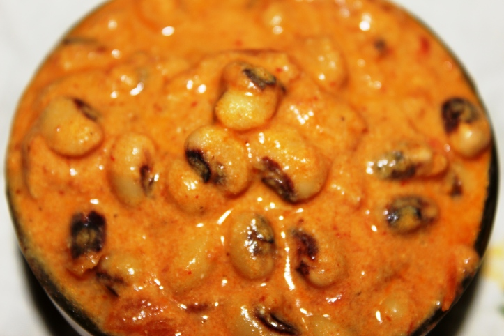 Black eyed beans: Creamy Beans - Recipe in masalahealth.com