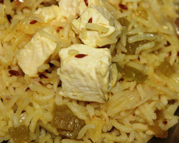 Tasty Veg Pulao - Recipe of Jeera (Cumin) Rice in masalahealth.com