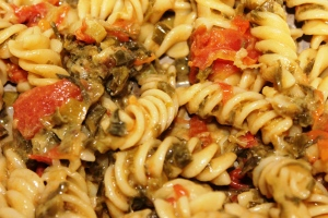FUSILLI PASTA: Peppery Fusilli Pasta - Recipe in masalahealth.com