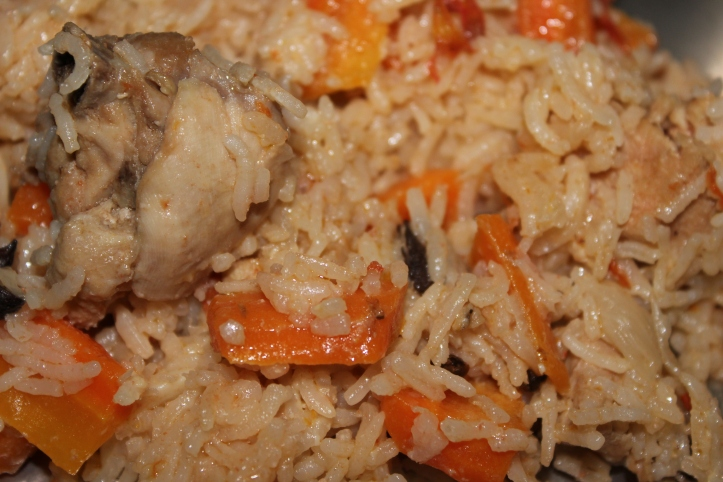 Pulao - Recipe of the 3 (Chicken, Carrot & Cheese)'s Pulao in masalahealth.com