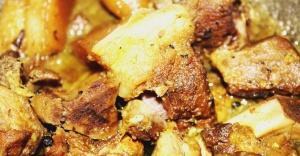 PORK CHUNKS: Luscious Pork Chunks - Recipe in masalahealth.com