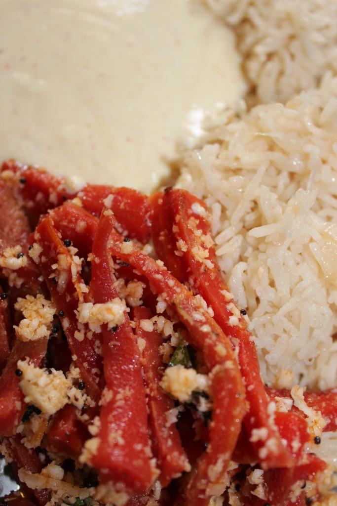 HEALTHY MEAL: Carrot sticks (with Rice & Yogurt) - Recipe in masalahealth.com