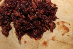 DELICIOUS BLEND: EE(beetroot)G Bhurji - Recipe in masalahealth.com