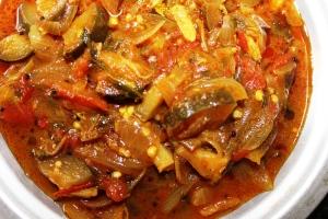 Brinjal/Eggplant/Aubergine Gravy:(SPICY&TANGY) BainganBhaji - DELICIOUS VEGETARIAN Recipe in masalahealth.com