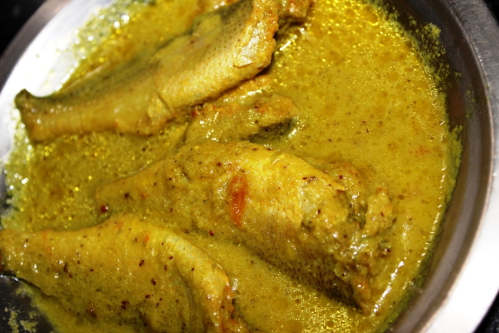 FISH CURRY: Dhoma /Croakar/Dodyaro/Hodki in PiquantCurry - Recipe in masalahealth.com