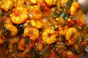 PRAWNS GRAVY: Sweet-Zesty PRAWNS - Recipe in masalahealth.com