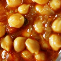 Chickpeas in SavouryGravy