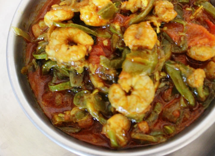 DELICIOUS BLEND: The Blend of Capsicum&Prawns - Recipe in masalahealth.com