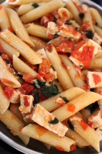 Penne Pasta - The Recipe of Pasta in Irresistible Asian flavour in masalahealth.wordpress.com