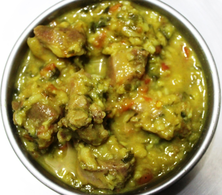 NON-VEGETARIAN FOOD: The Tasty Chevon Gravy - Recipe in masalahealth.com