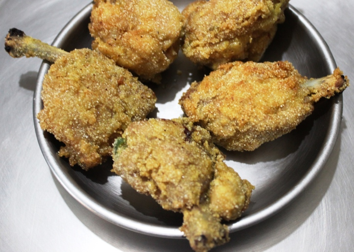CHICKEN WINGS/CHICKEN LOLLIPOPS - Simply Ginger CHICKEN WINGS - Recipe in masalahealth.com