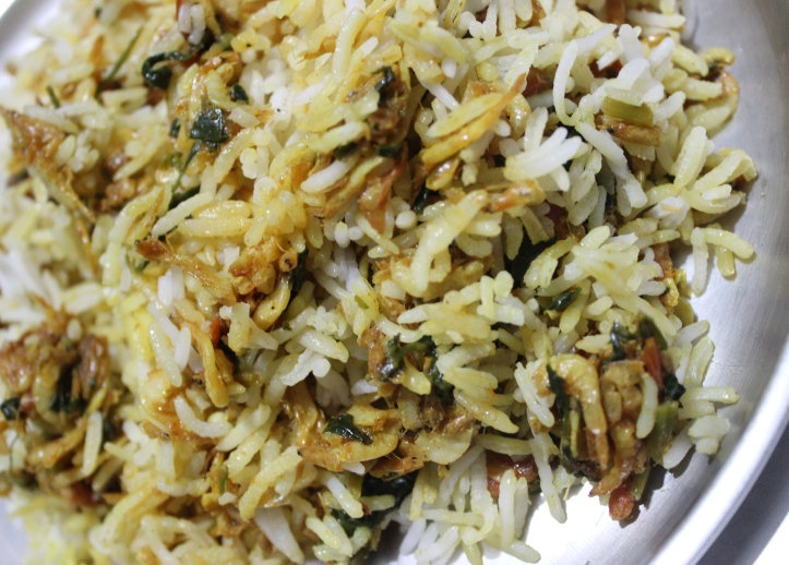 PULAO: Dry Shrimps Pulao - Recipe in masalahealth.com