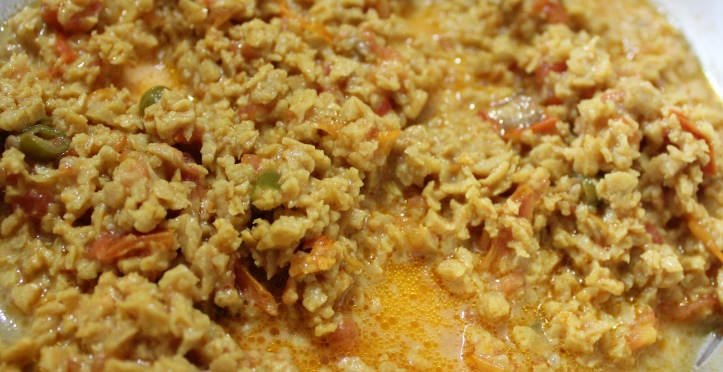 Soya granules or keema - Recipe of Soya Granules in masalahealth.wordpress.com