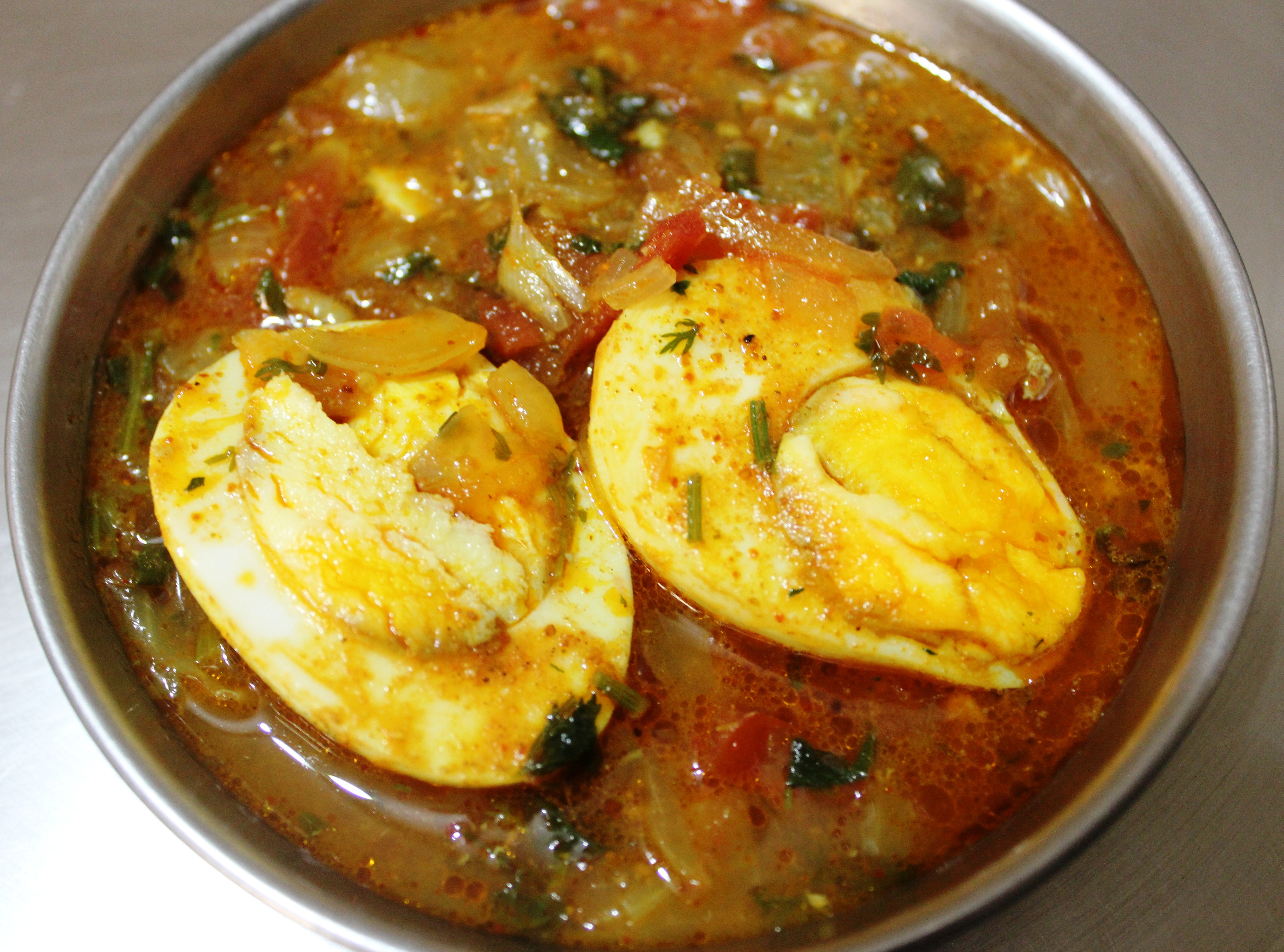 The Recipe of easy & tasty Egg Curry in masalahealth.com