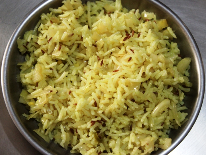 Pulao: A Special Pulao (with cumin seeds) Recipe in masalahealth.com