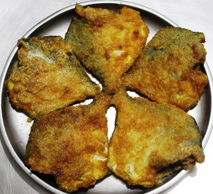 Special Silver Pomfret Fish Fry - Seafood Recipe in masalahealth.com