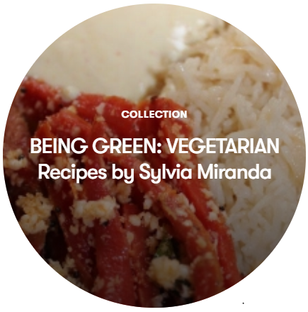 Mix Collection 'Being Green' - Vegetarian Recipes by Sylvia Miranda