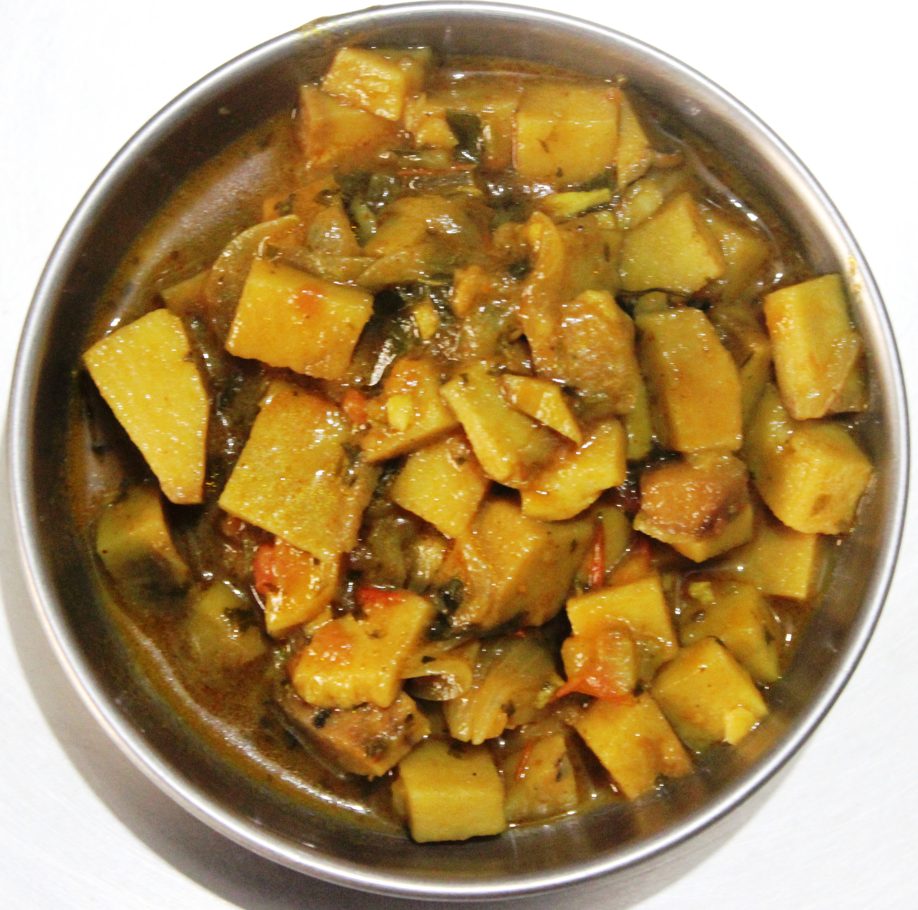 Yam Gravy: Recipe of Delicious Vegetarian Food in masalahealth.com