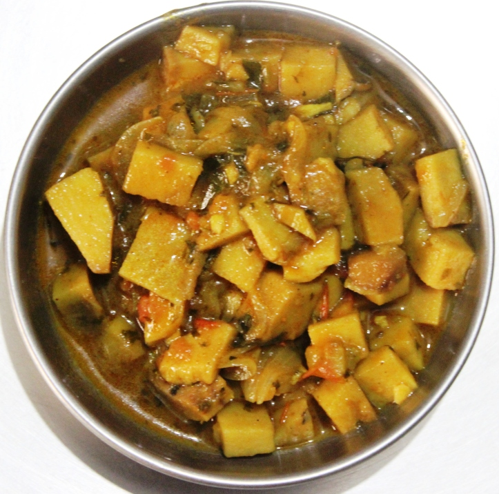 Yam Gravy: Recipe of Delicious Vegetarian Food in masalahealth.com