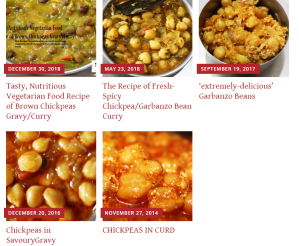 Delicious and Nutritious Food Recipes of Chickpeas in masalahealth.com