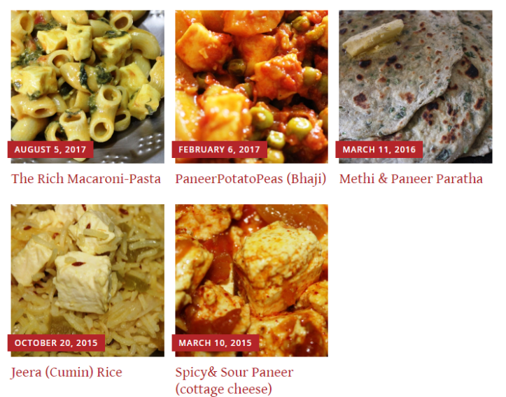 Delicious High Protein Veg Food Recipes of Paneer or Cottage cheese in masalahealth.com