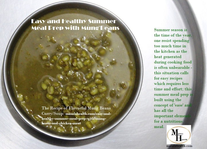 Lentil Soup with Mung Beans: Recipe of Flavorful Mung Beans Curry/Soup in masalahealth.com