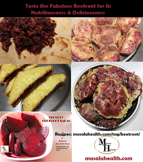 Taste the Fabulous Beetroot for its Nutritiousness & Deliciousness - Recipes in masalahealth.com