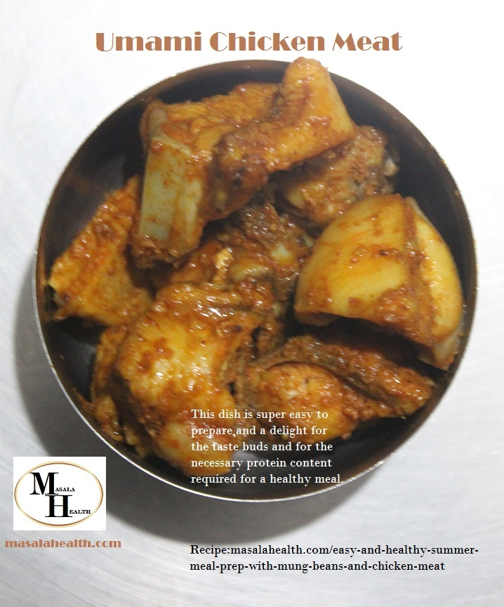 Chicken Meat Dish: Easy Recipe for Protein Food with Umami Chicken Meat in masalahealth.com