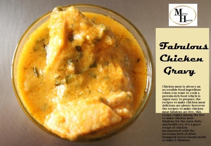 Fabulous Chicken Gravy - Recipe in masalahealth.com