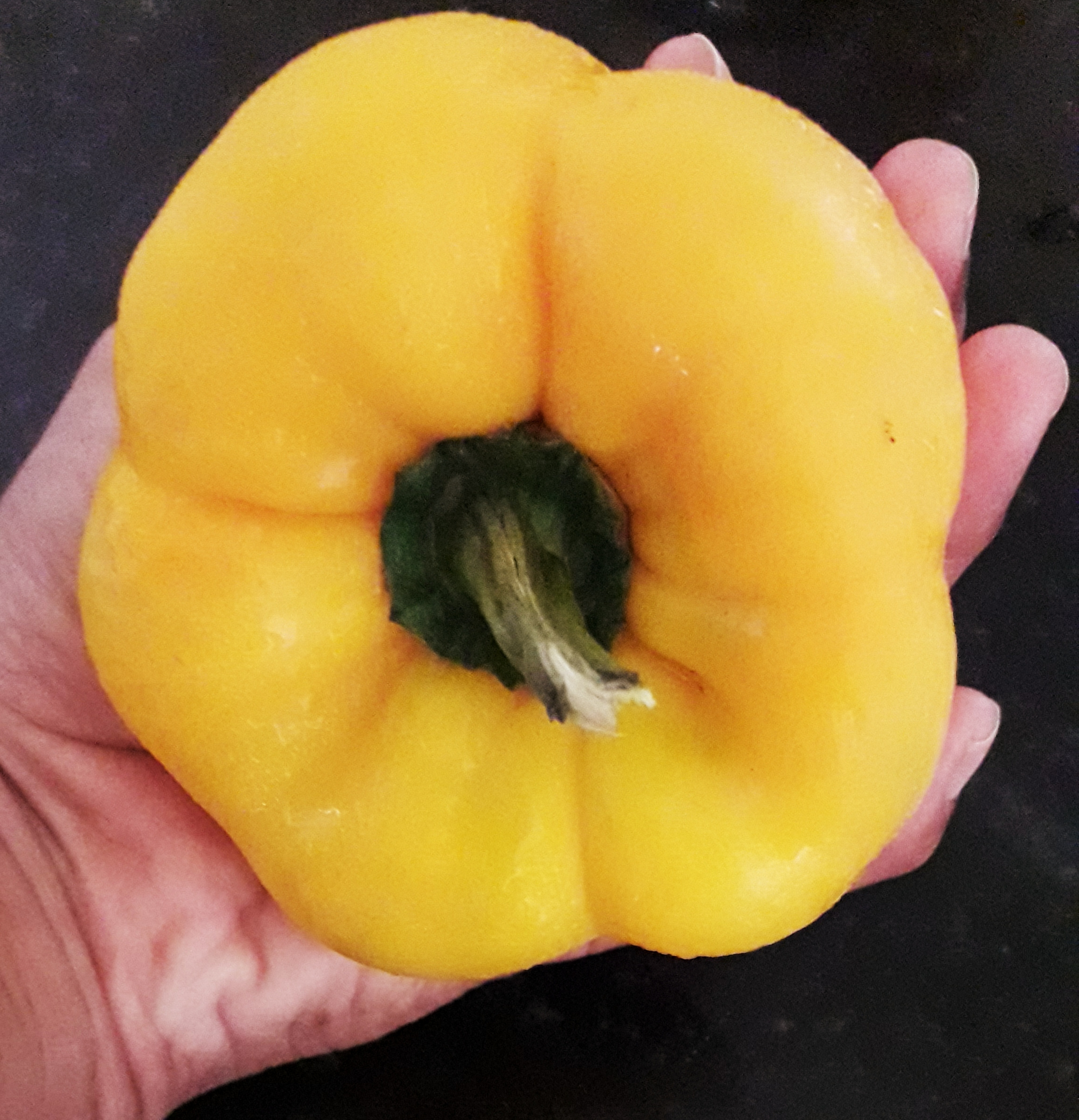 A Large Yellow Capsicum