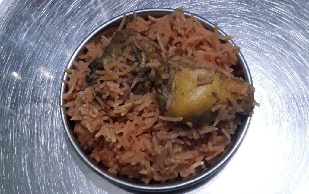 Fresh Tasting Chicken Pulao with Basmati Rice
