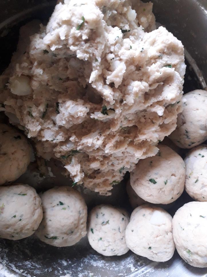 Paratha/Flatbread Dough and Dough Balls