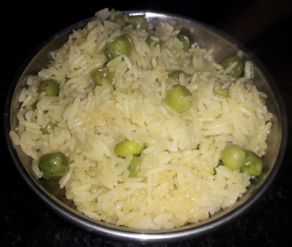 The Magical Flavour of Fresh Green Peas Pulao - Recipe in MASALAHEALTH.COM