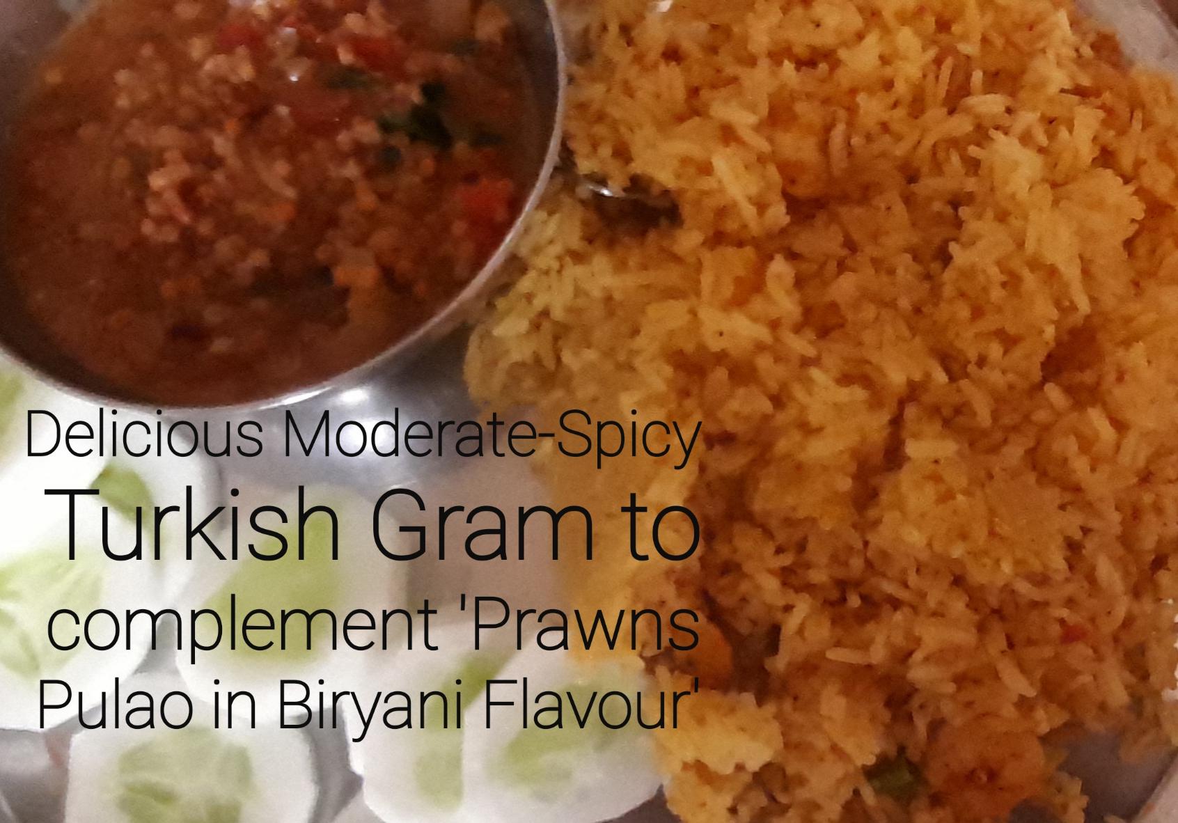 Delicious Moderate-Spicy Turkish Gram Gravy
