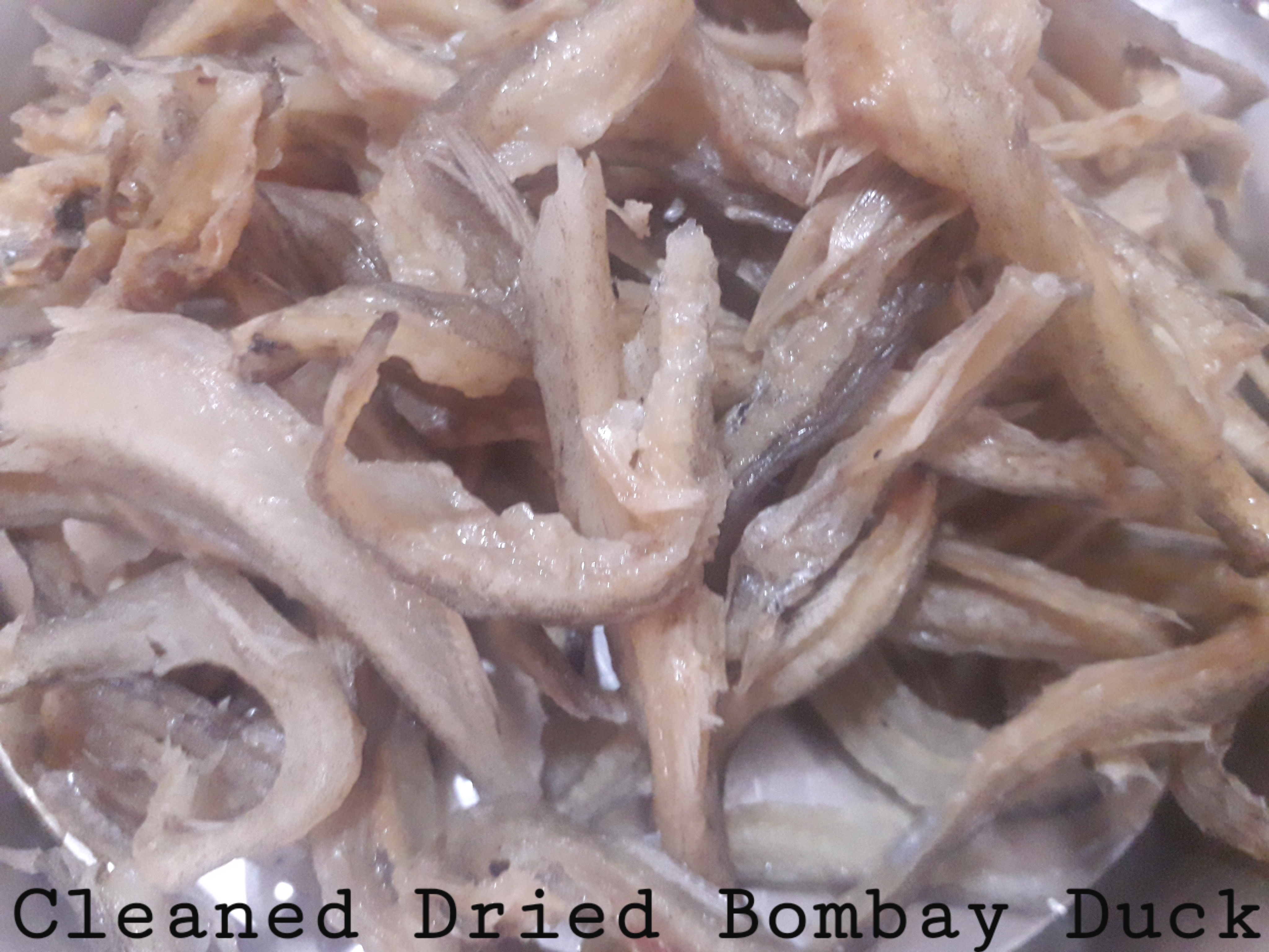 Cleaned Dried Bombay Duck