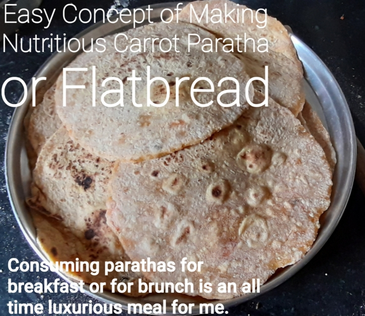 Easy Concept of Making Nutritious Carrot Paratha