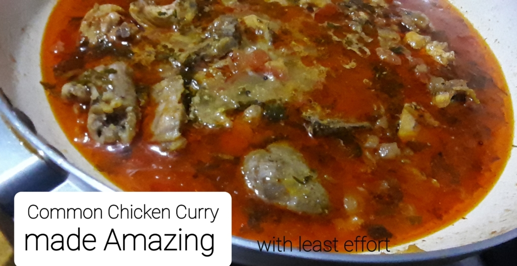 Common Chicken Curry