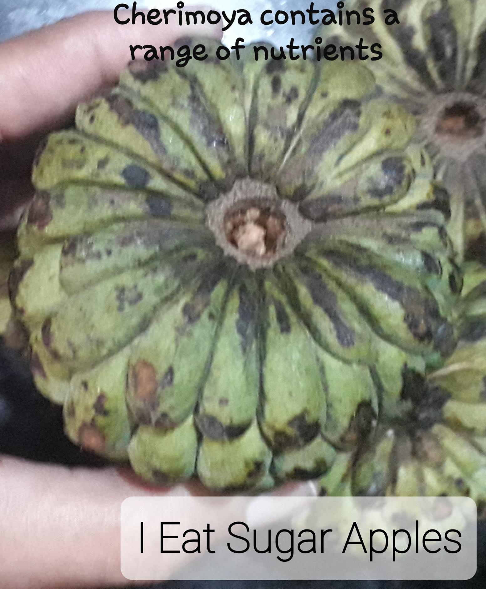 Custard Apple or Cherimoya or Sugar Apple