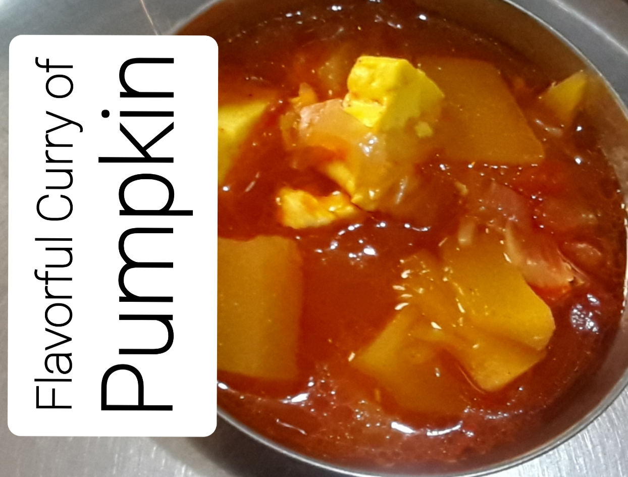 Flavorful Curry of Pumpkin