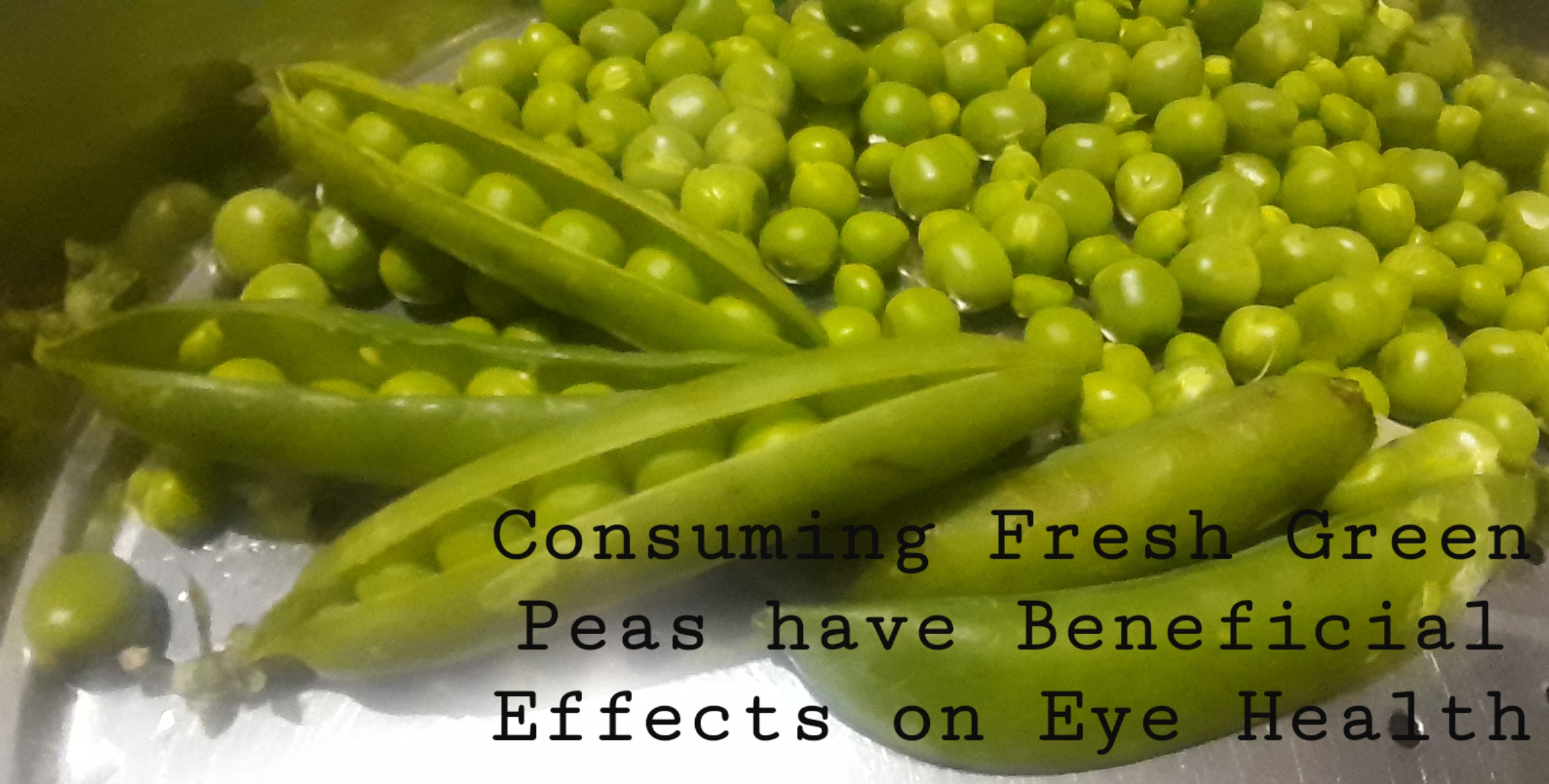 consuming fresh green peas have beneficial effects