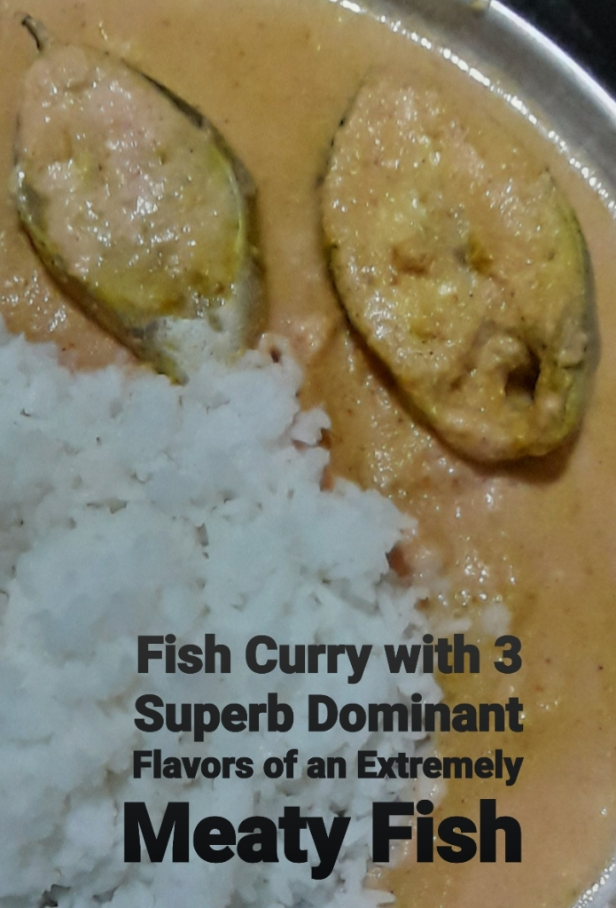 Fish Curry with 3 Superb Dominant Flavors