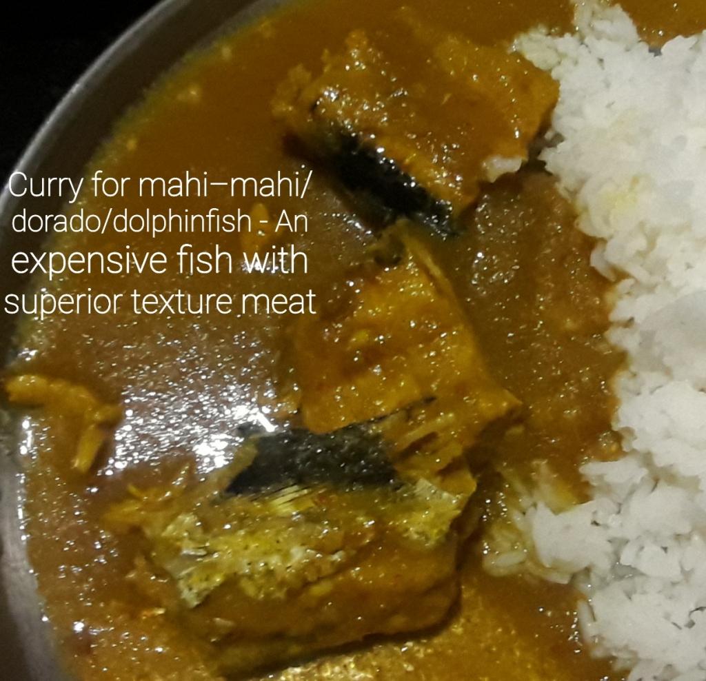 Mahi-mahi Fish Curry