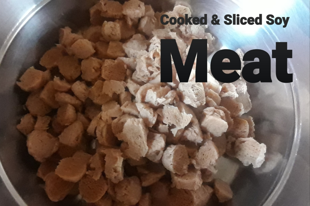 Cooked & Sliced Soy Meat