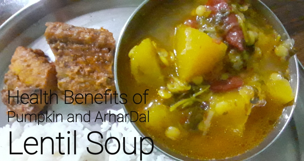 Health Benefits of Pumpkin and Arhar Dal Soup