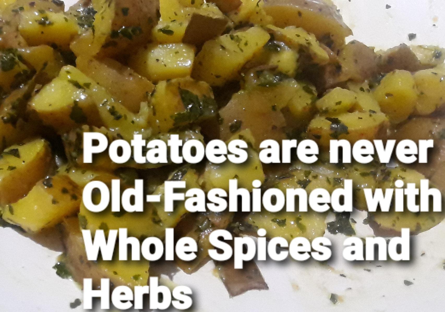 Kasuri Methi Potatoes