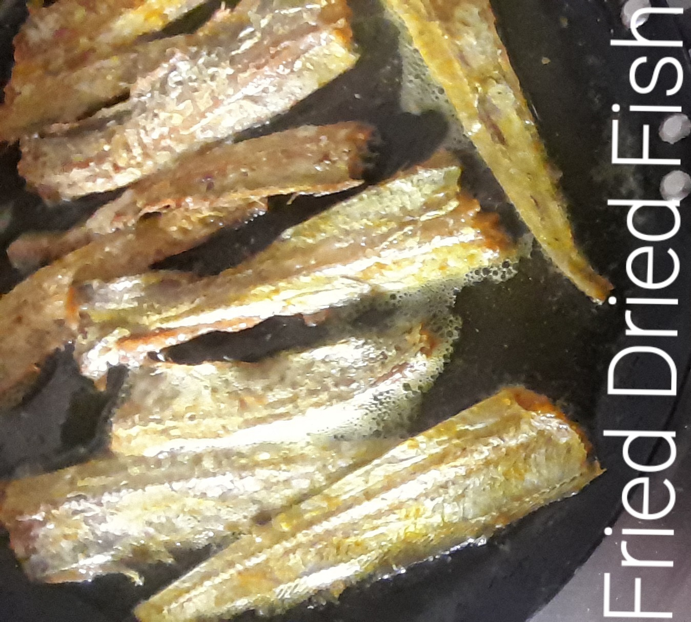 Fried Dried Fish