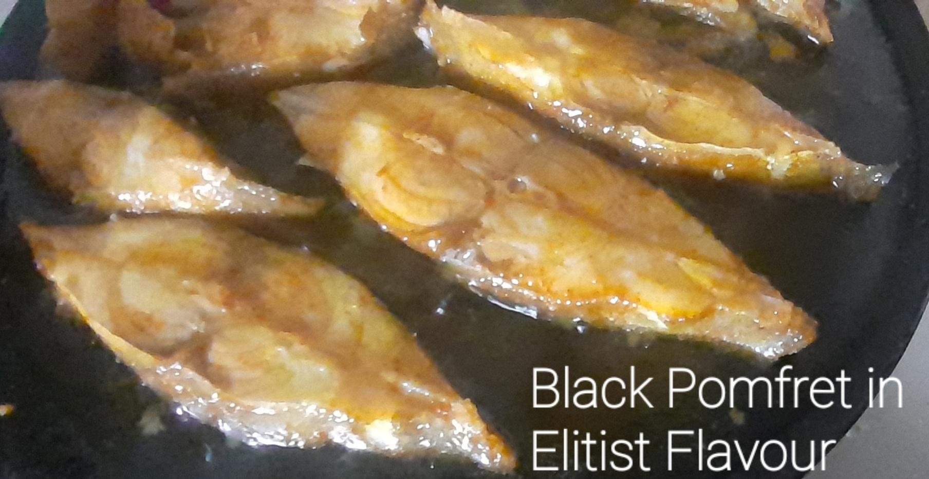 Black Pomfret Fish Fries