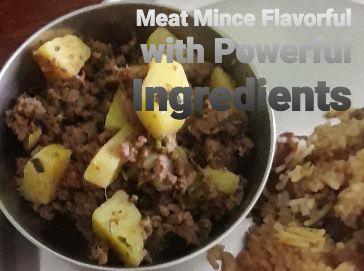 Meat Mince Flavorful with Powerful Ingredients